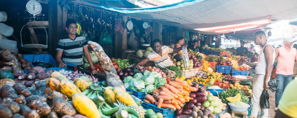 Punta Cana Ausfluege Gemüse