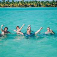 ausflug insel-saona-party punta cana